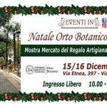Natale all'Orto Botanico di Catania